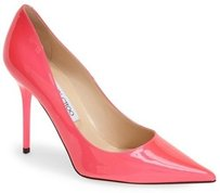 Jimmy Choo Abel Patent Pink Pumps