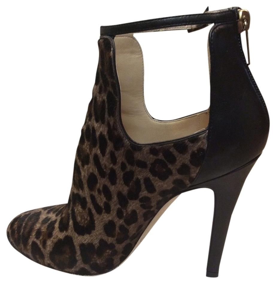 c7e71dd279f ... official store jimmy choo leopard print and black boots 248a5 64596
