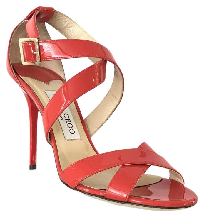 Jimmy Choo Patent Leather Lottie Sandals low shipping cheap price 100% original rl4QrwSSg