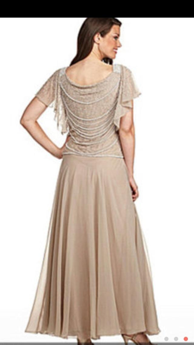 Champagne Colored Dresses Casual