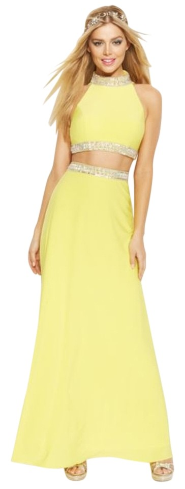 Joanna Chen Sleeveless Jewel-Trim Two-Piece