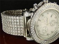 Joe Rodeo Joe Rodeo Jojo Benny 7row Custom Diamond Watch Jju117