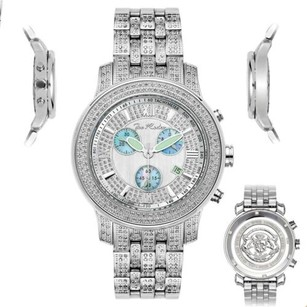 Joe Rodeo Mens Diamond Watch Joe Rodeo J2025 Fully Loaded Ct Illusion Dial