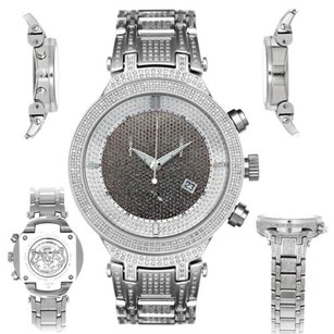 Joe Rodeo Mens Diamond Watch Joe Rodeo Master Jjm12 4.75 Ct Illusion Dial