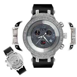 Joe Rodeo Mens Diamond Watch Joe Rodeo Master Jjm7 2.20 Ct Illusion Dial