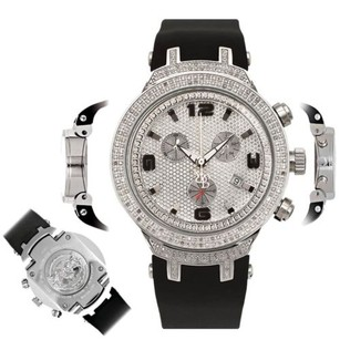 Joe Rodeo Mens Diamond Watch Joe Rodeo Master Jjm88 2.20 Ct Chronograph Dial