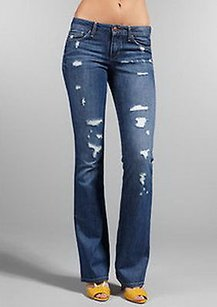 JOE'S Honey Shae Destroyed Finish 25 160925d Tag Boot Cut Jeans