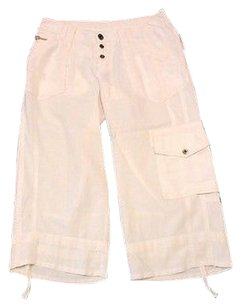 Joie Capri/Cropped Pants White