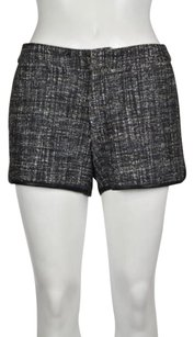 Joie Womens Speckled Shorts Black