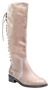 Joie Leather Tall Slow Elephant grey Boots