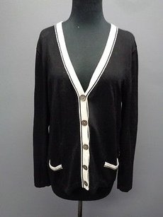 Jones New York Collection Rayon Blend Button Down Cardigan Sma9012 Sweater