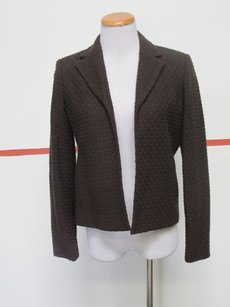 Jones New York Jones York Petite Brown Long Sleeve Open Front Lined Blazer 6p 28285