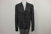 Jones New York Jones York Womens Black White Blazer Long Sleeve Basic Jacket Ac