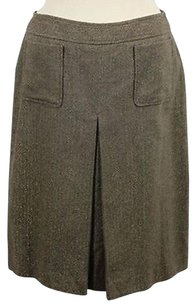 Jones New York Ny Below Skirt Gold
