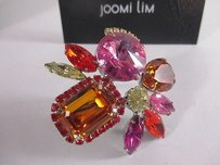 Joomi Lim Joomi Lim Pretty Bijoux Ring Pinkn Orange