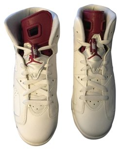 Nike White and Maroon Athletic