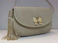 Judith Leiber Butterfly Tassel Leather Max061921 Satchel