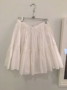 Juicy Couture Full Skirt White