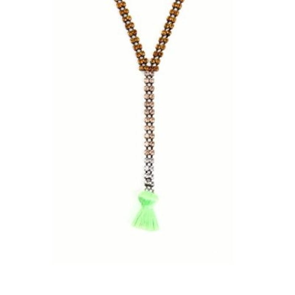 Juicy couture green necklace 80 off juicy couture for Juicy couture jewelry necklace
