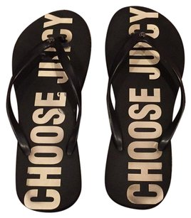 Juicy Couture Blac Sandals