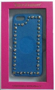 Juicy Couture Blue Leather JC iPhone 5 Case