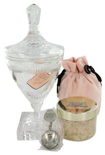 Juicy Couture C by JUICY COUTURE ~ Women's Huge Crystal Goblet with Pacific Sea Salt Soak in Luxury Juicy Gift Box 10.5 oz