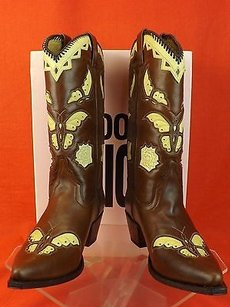 Juicy Couture Cowboy Western Brown Boots