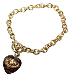 Juicy Couture Heart Charm bracelet