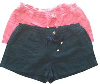 Juicy Couture Mini/Short Shorts Pink and navy blue
