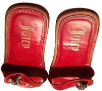 Juicy Couture Red Flats