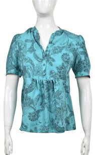 Juicy Couture Womens Top Blue