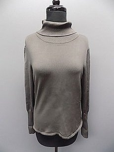 Juliana Collezione Smoky Silk Blend Casual Turtleneck 348a Sweater