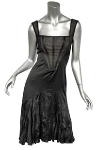 Just Cavalli Black Sleeveless Dress