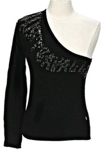 Just Cavalli Embellished One Shoulder Sweater