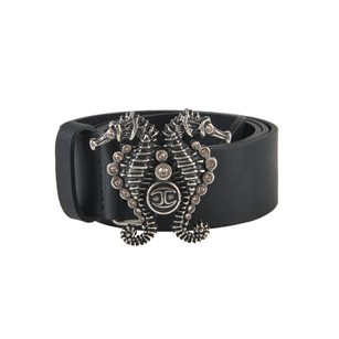Just Cavalli Just Cavalli Womens 100 Leather Buckle Decorated Belt S28 80
