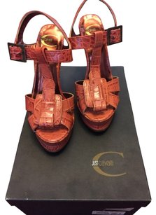 Just Cavalli Orange Wedges