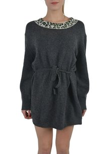 Just Cavalli short dress Gray Sweater on Tradesy