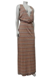 Multi-Color Maxi Dress by Karen Zambos Striped Molly Maxi