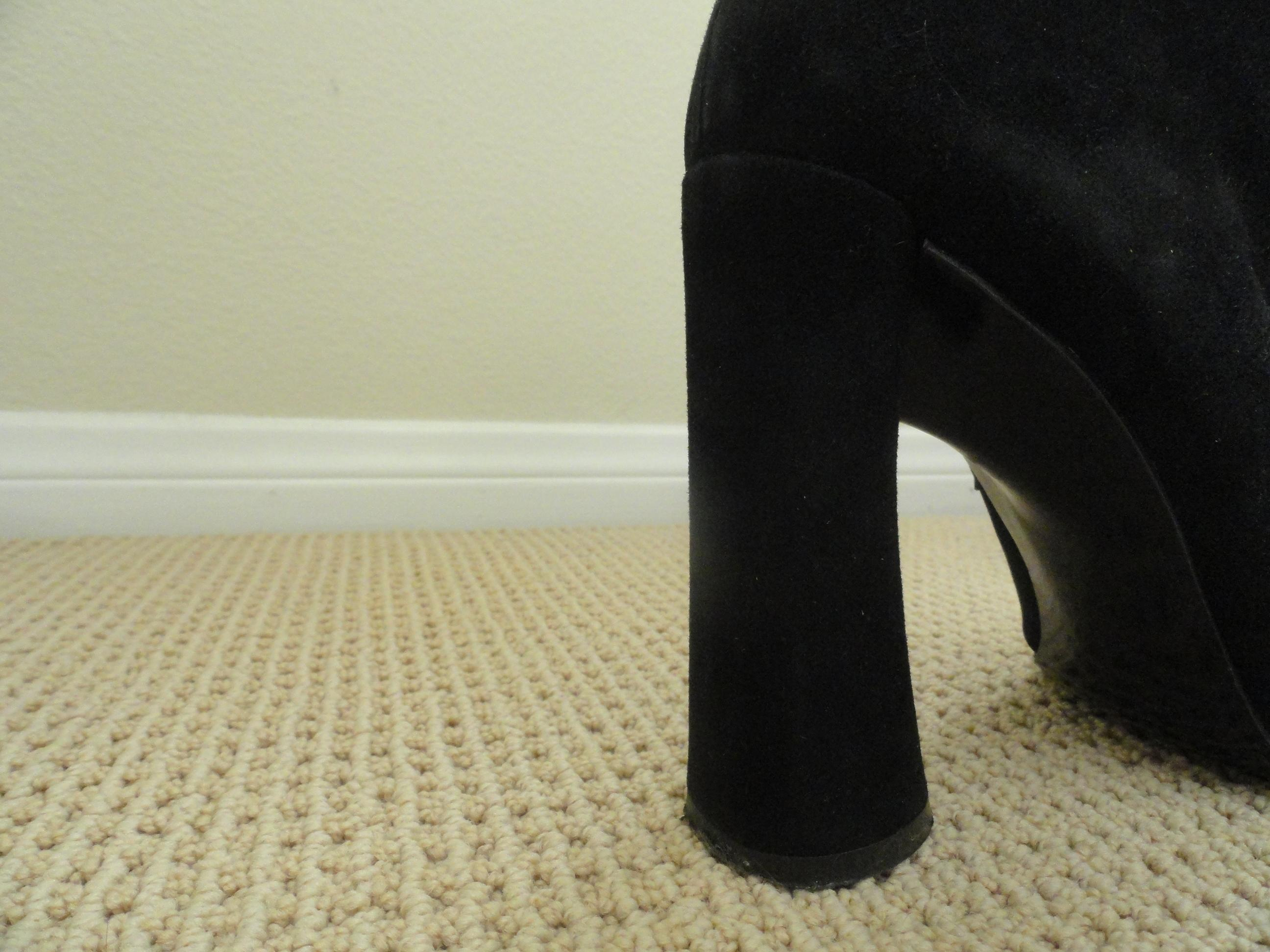 a86f7436e46a Karl Lagerfeld Lagerfeld Lagerfeld Black Suede Ankle Boots/Booties Size EU  39.5 (Approx.