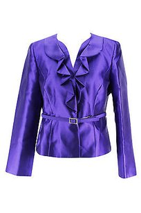 Kasper Kasper Womens Suit Purple Polyester -