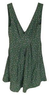 Kate Moss for Topshop short dress Green Bohemian Cut-out on Tradesy