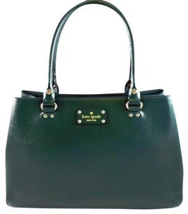 Kate Spade Leather Elena Tote in Green