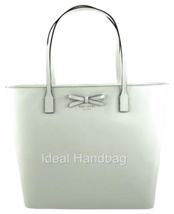 Kate Spade Leather Tori Tote in Ivory