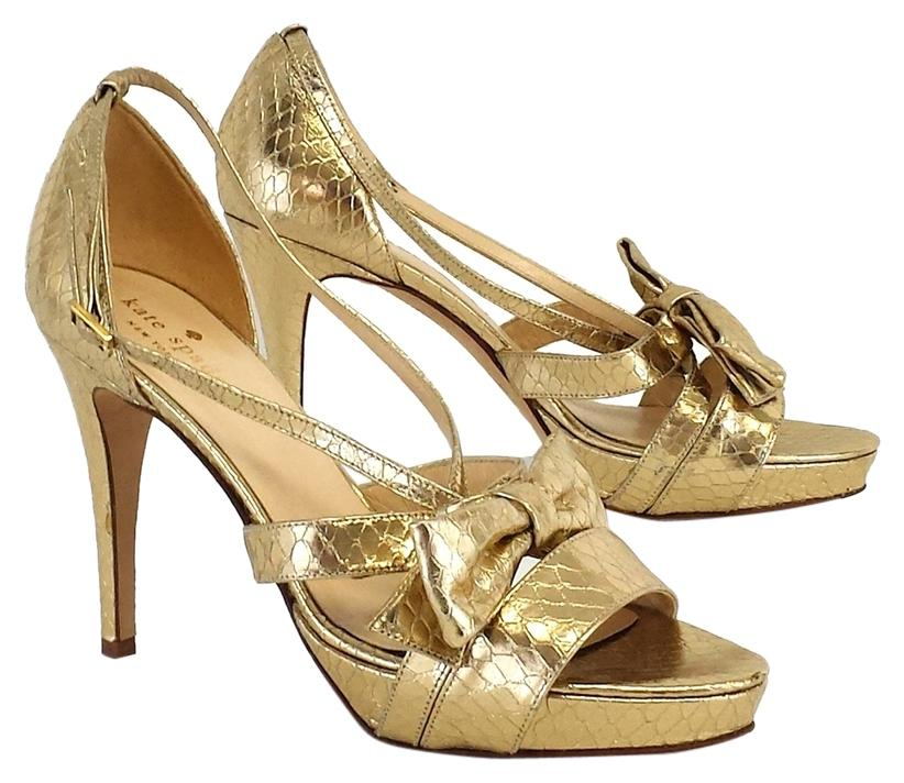 Gold Bow Heels M5bso5Dt
