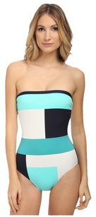 Kate Spade Kate Spade New York Mykonos Color Block Bandeau Maillot