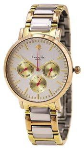 Kate Spade New York Women's Grand Gold Ion-Plated Watch 1YRU0481