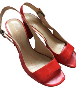 Kate Spade Red Patent Leather Sandals