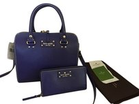 Kate Spade Satchel in HOLIDAY BLUE