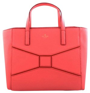 Kate Spade Leather Francisca Satchel in Pink