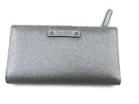 Kate Spade Stacy Haven Lane Silver Glitter Wallet